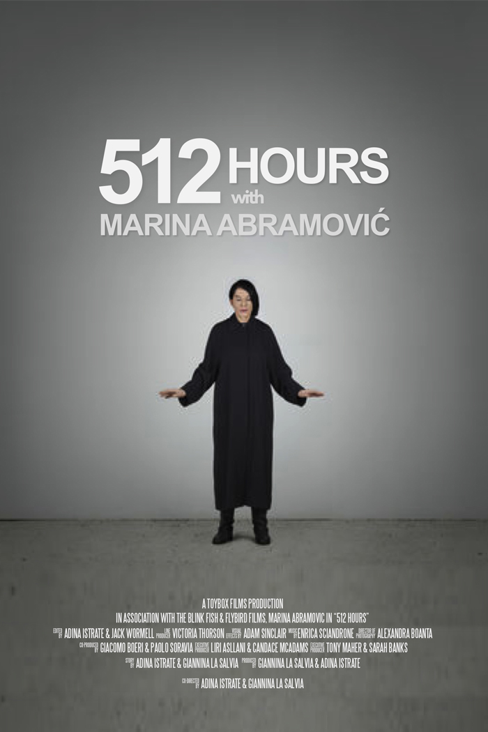 512 Hours With Marina Abramovic